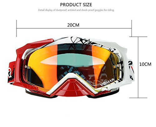 Montar a de de explosiones C Aire Libre al Productos Prueba Viento Prueba Gafas PC esquí fqBdBZ