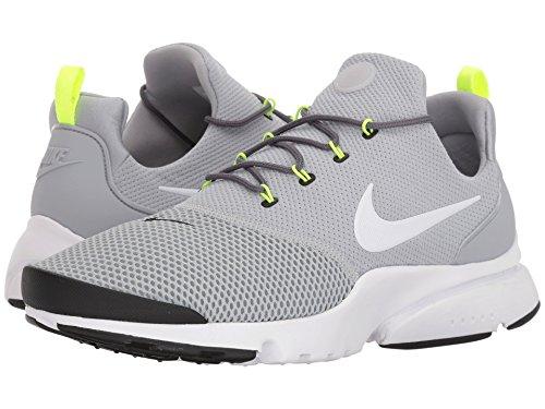 [NIKE(ナイキ)] メンズランニングシューズ?スニーカー?靴 Presto Fly Wolf Grey/White/Black/Volt 6.5 (24.5cm) D - Medium