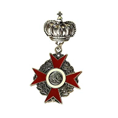 Amazon.com: FENICAL Ropa Hebillas Broche Corona Reina Medal ...