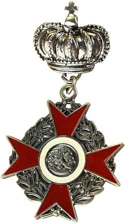 Fenical Broche de hebilla con diseño de corona de reina y medalla, para mujeres y hombres
