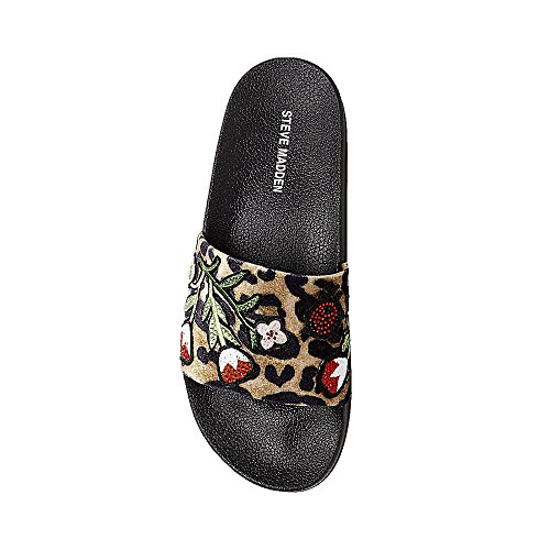 198bdcd6831 Steve Madden Women s Patches Flat Sandal