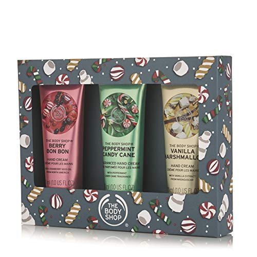 The Body Shop Festive Hand Cream Trio Gift ()