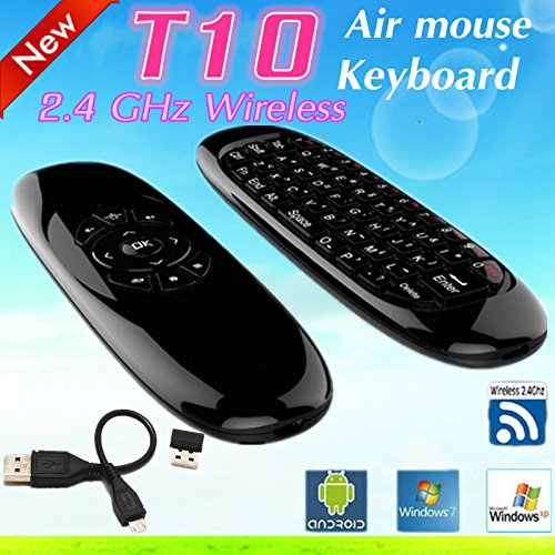 Dragonbest T10 C120 2.4G Wireless Fly Air Mouse 6 Axis Sensor Gyroscope Handheld Keyboard