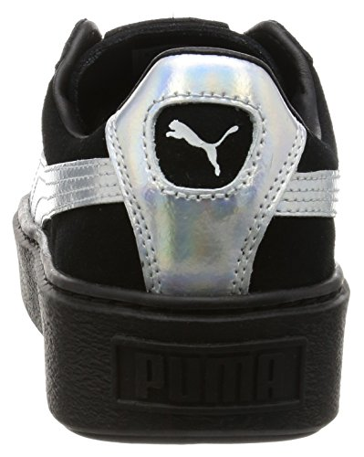 Suede Platform Explos BWn's puma black-puma black