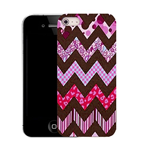 Mobile Case Mate IPhone 4 clip on Silicone Coque couverture case cover Pare-chocs + STYLET - purple zealous pattern (SILICON)