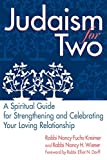 img - for Judaism for Two: A Spiritual Guide for Strengthening & Celebrating Your Loving Relationship book / textbook / text book