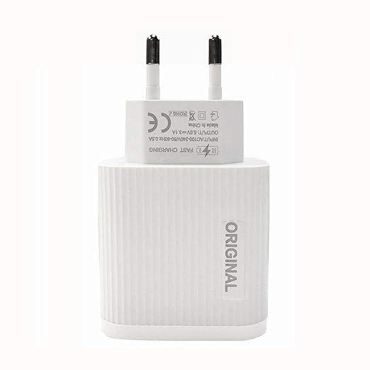 kingpo Cargador rápido Universal USB 3 V 3 A para iPhone 7 8 ...