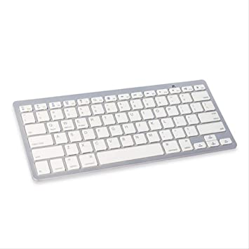 PMWLKJ Mini Teclado Bluetooth para iPad Tablet iPhone Android ...