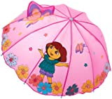Best Dora the Explorer Birthday Gifts For 3 Year Old Girls - Nickelodeon Little Girls' Dora Umbrellas, Purple, One Size Review