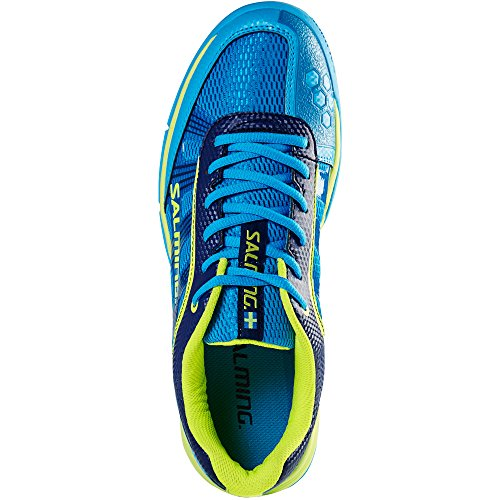 Salming Adder Herenschoenen Cyaan / Safety Yellow