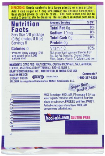 Amazon Kool Aid Flavored Drink Mix Unsweetened Grape 014