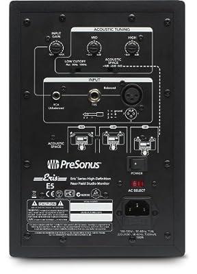 PreSonus Eris E66 Active MTM Near Field Monitor (Single)