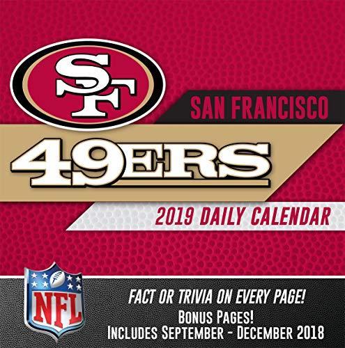 Turner Licensing San Francisco 49Ers 2019 Box Calendar - Calendars Francisco 49ers San