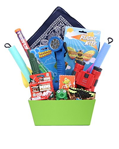 The Adventure Kit - Birthday or Special Occasion Gift Basket for Young Explorers