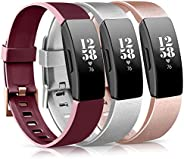 Tobfit Bands Compatible for Fitbit Inspire HR Band/Fitbit Inspire Band/Ace 2, Replacement Wristband Sport Band