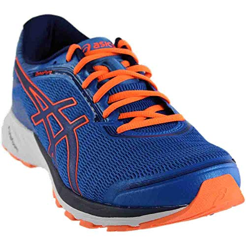ASICS Men's Dynaflyte Running Shoe, Electric Blue/Indigo Blue/Hot Orange, 11 M US