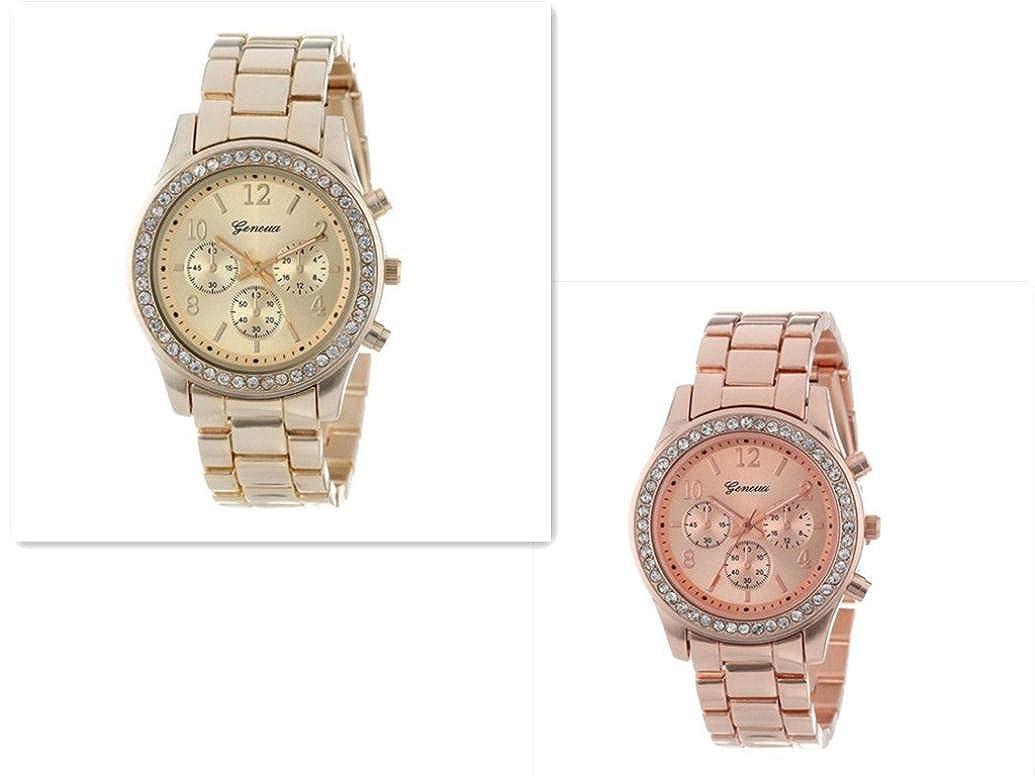 Sportuhr Damen Rosegold : Quarz armbanduhr perlmutt uhr damen uhren damen armbanduhr aus