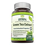 Herbal Secrets Green Tea Extract 500 Mg 250 Capsules