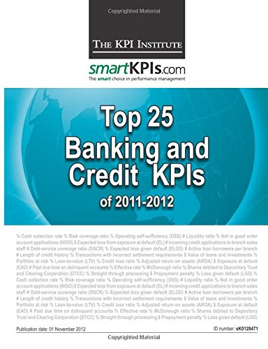 Top 25 Banking and Credit KPIs of 2011-2012 pdf