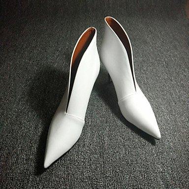 black A ggx Gros Décontracté Femme Talons Bride Chaussures Arrière à Talon Polyuréthane LvYuan nHS7AXF7