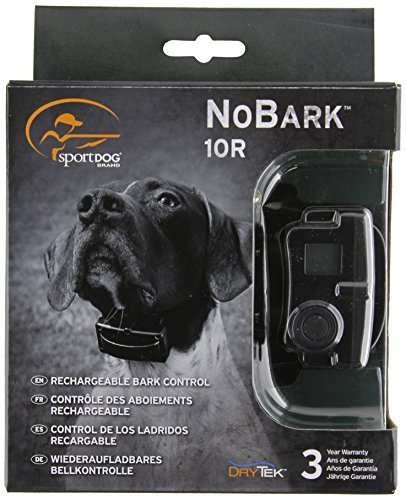 SportDOG Bark Control No Bark Collar Rechargeable Waterproof | SBC-10R Anti-Bark Collar | Stops Dog Barking | FREE GIFT WITH PURCHASE