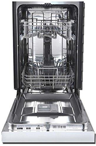 Avanti DW1833D3SE 18 Built In Full Console Dishwasher Stainless Steel