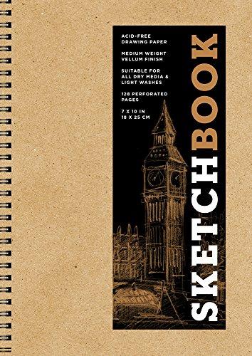 Sketchbook (Basic Medium Spiral Kraft) (Sterling Sketchbooks)