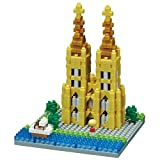Nanoblock Kolner Dom Cologne Cathedral Building Kit