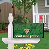 VictoryStore Mailbox Cover Outdoor Decoration, Cead Mile Failte, Irish Design 1, Magnetic Mailbox Cover