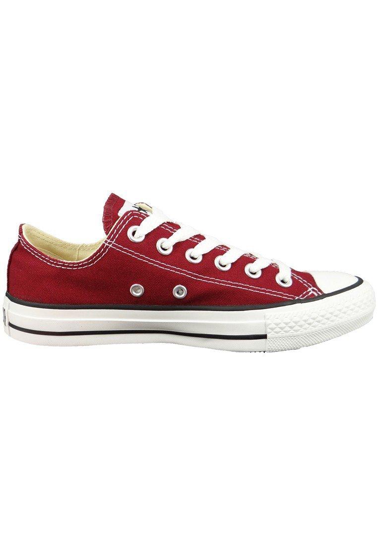 Converse Damen Schuh Chuck / Taylor Ox Schlangenhautmuster Silber / Chuck Weißszlig; Rot (Maroon) ef8158
