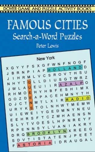 Famous Cities Search-a-Word Puzzles (Dover Children's Activity Books)