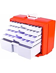 Orange White Medical 5 Drawer Cabinet 19 5 L X 10 4 W X 15 H 1 Cabinet