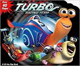 DreamWorks Turbo Racing Team Lift-the Flap by Dreamworks Turbo 2013-06-11: Amazon.es: Dreamworks Turbo: Libros