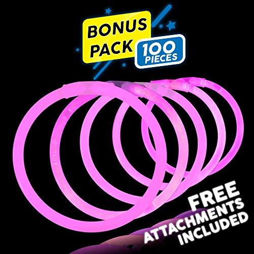 Lumistick 8 Inch 100 Pack Glow Sticks -