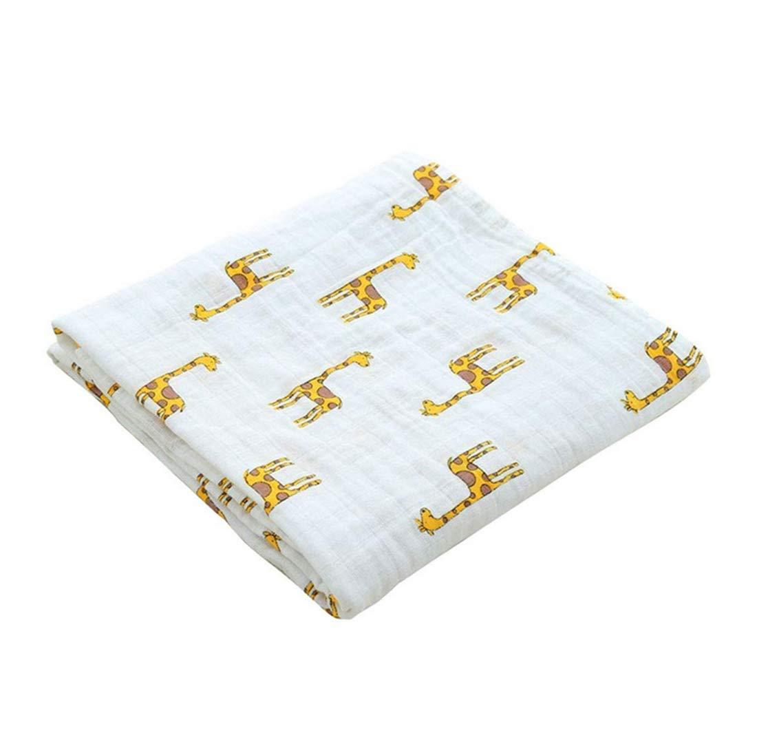Repuhand 100/% cotton Muselina de Algod/ón para Beb/é Manta de muselina Suave y Acogedora 110x120cm