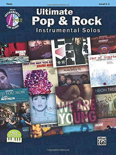 Ultimate Pop & Rock Instrumental Solos: Flute, Book & CD (Ultimate Pop Instrumental Solos Series)