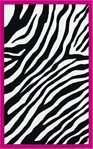 Kids Zebra Pink 4'5
