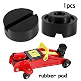 TR.OD 65mm Slotted Frame Rail Floor Jack Lift Rubber Pad Adapter For Pinch Weldside JACKPAD