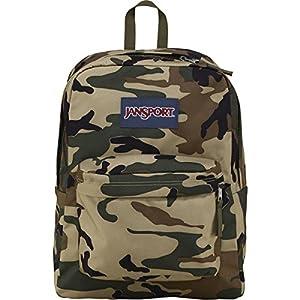 JanSport Superbreak Backpack - 1550cu in Desert Beige Conflict Camo, One Size