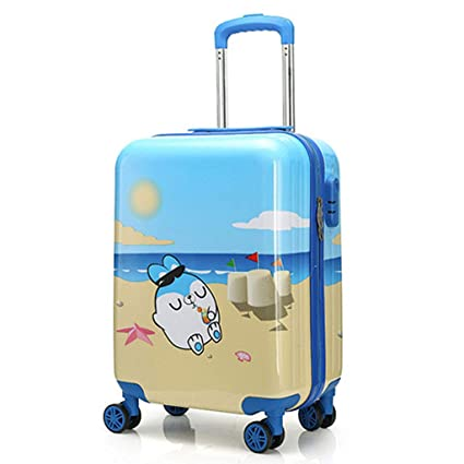 Amazon.com : Gucili Child Trolley Case, Cartoon Cute Beach ...