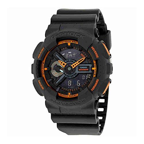 Casio Men's GA-110TS-1A4 G-Shock Analog-Digital Watch With Grey Resin (Shock Analog)