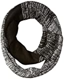 Jessica Simpson Women's Ombre Marled Eternity Scarf, Black One Size