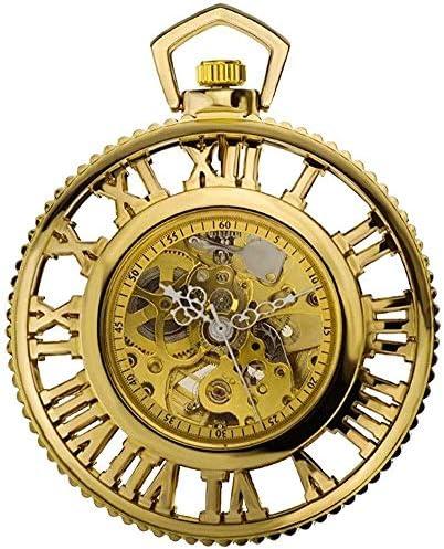 懐中時計レトロノスタルジア、第2の要素、色の名前を取り巻くローマ式スチーム機械ギア自動機械式時計アニメ:2 (Color : 2)