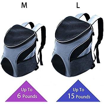 Amazon Com Pawaboo Dog Backpack Pet Adjustable Saddle