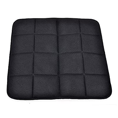 Emazon® Bamboo Charcoal Breathable Seat Cushion Cover Pad Mat For Auto Car Office Chair