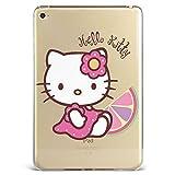 GSPSTORE iPad Air 2 Case, Hello Kitty Cartoon Hard Plastic Protector Cover for Apple iPad Air 2#10