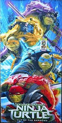 Teenage Mutant Ninja Turtle Movie Beach Towel