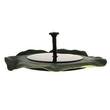 perfk Bomba de Agua Solar Aire Libre Patio Complimentos Pecera Acuario Plantado Fácilmente Cómodo