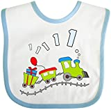 Best inktastic Birthday Gifts For A 1 Year Olds - Inktastic - 1st Birthday Party Train Baby Bib Review
