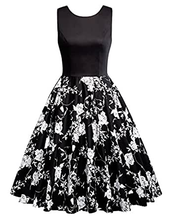 GRACE KARIN A-Line Retro 1950s Dresses for Women Polka Dots Size S CL010463-2